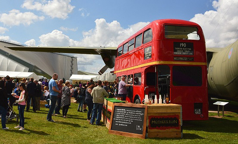 RAF Cosford Food Festival 2021 [CANCELLED DUE TO CORVID-19] but a market will take place instead