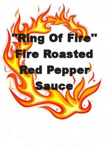 Ring Of Fire Fire Roasted Red Pepper Sauce