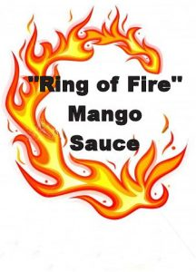 Ring Of Fire Mango Saucer