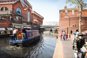 Brindley Place Canals
