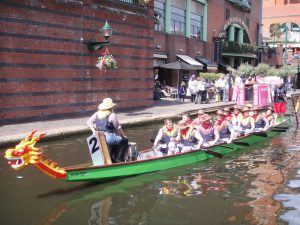 Brindley Place Dragon Boat01