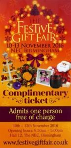 Festive Gift Fair Ticket