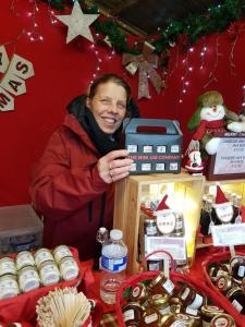 Our Stall At Chatsworth Christmas Market 2019